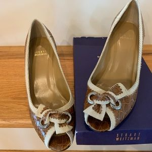 Stuart Weitzman shoes almost brand new in box